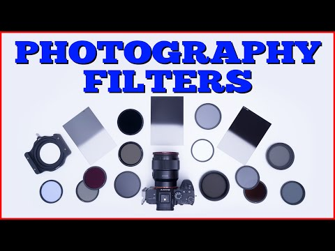What different PHOTOGRAPHY FILTERS do and why you need them!