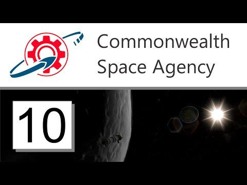 Kerbal Commonwealth Space Agency - 10. Moonbat Returns (KSP 1.0.2)