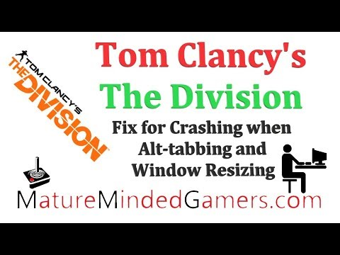 the division alt tab crash