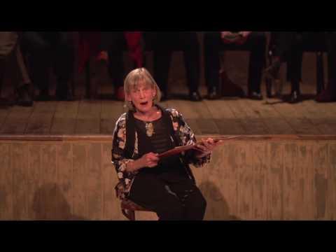 Annie Firbank reads Dear As Salt at Wiltons Music Hall