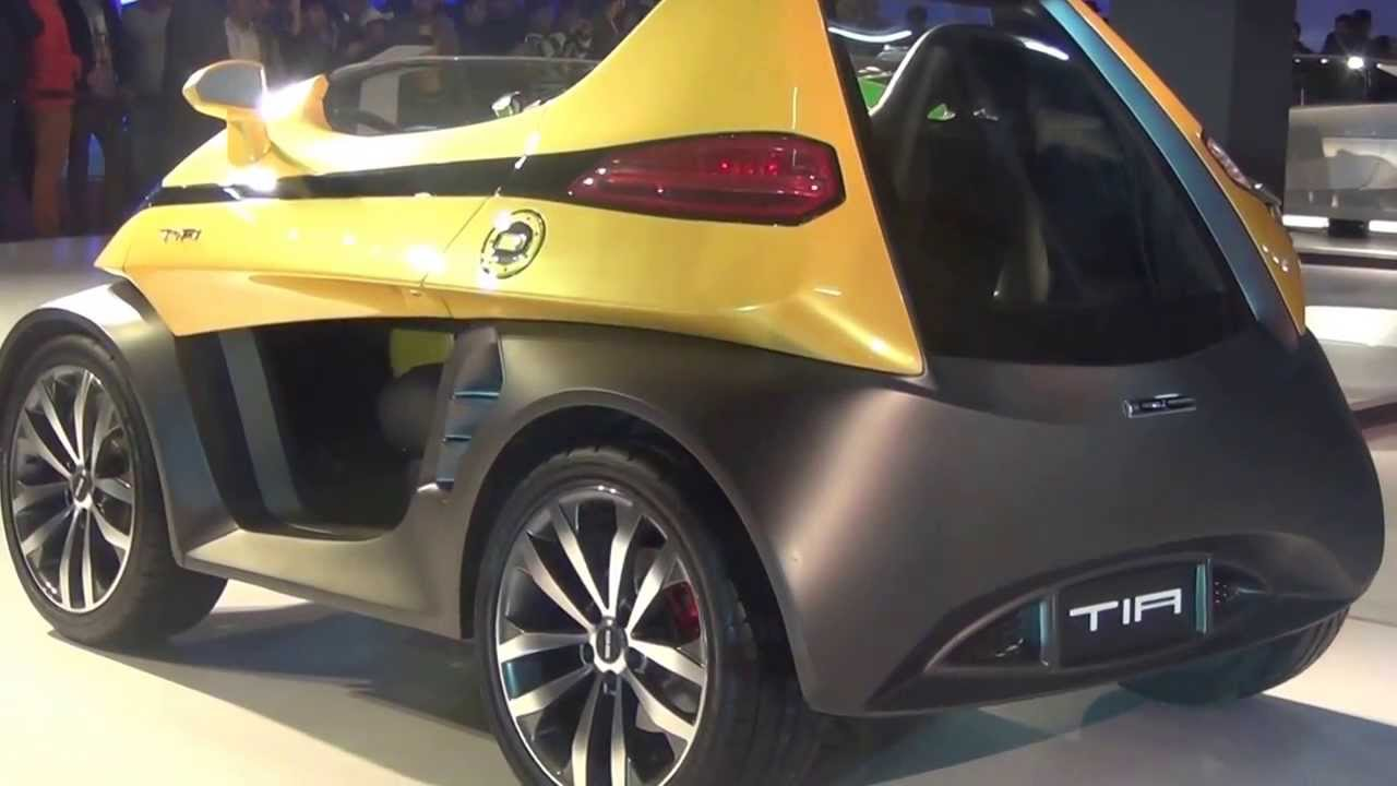 Dc Design Tia Side Back View At 12th Auto Expo 2014 The Motor Show