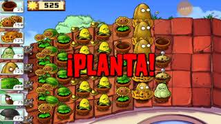 13.-plantas vs zombies 1 supervivencia tejado (5 parte ) carlos sg21