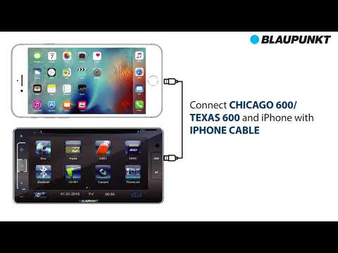 How To Pair Blaupunkt Texas 600 / Chicago 600 With iOS Via Phonelink