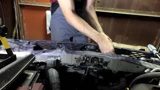 Nissan Qashqai J11 Замена вентилятора РО.