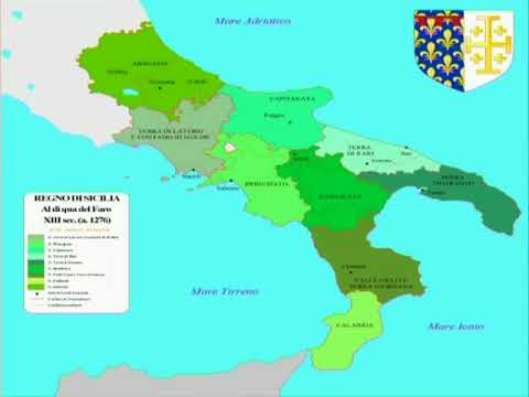 Statal transformations in the Angevin Kingdom of Sicily on lampedusa island italy map, viceroyalty of peru on map, county of tripoli on map, kingdom of sicily flag, battle of cannae on map, principality of antioch on map, ryukyu kingdom on map,