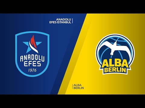 Anadolu Efes Istanbul - ALBA Berlin  Highlights | Turkish Airlines EuroLeague, R
