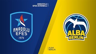 Anadolu Efes Istanbul - ALBA Berlin  Highlights | Turkish Airlines EuroLeague, RS Round 2