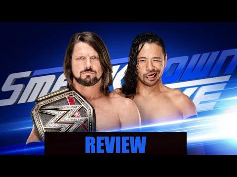 AJ Styles Vs Shinsuke Nakamura WWE Smackdown Live 1/30/18 Review