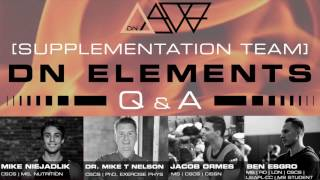 De Novo Elements - Supplementation l Q&A Panel