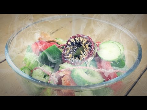 How to make a salad from possessed vegetables