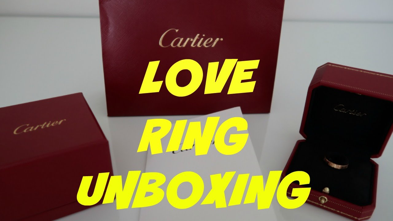 Authentic Mens Cartier Love Ring Wedding Band In Pink Gold