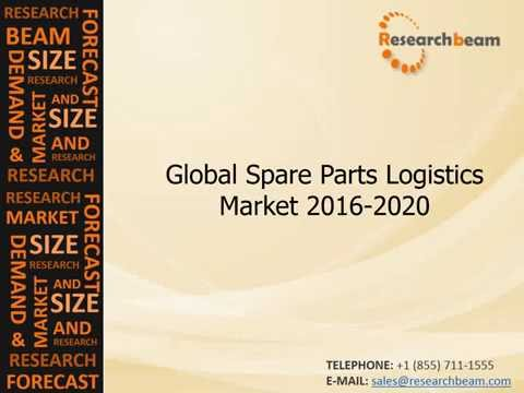 Spare Parts Logistics Market (Industry) 2016 2020 : Trends, Growth