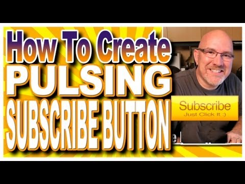 how to create a subscribe button on youtube