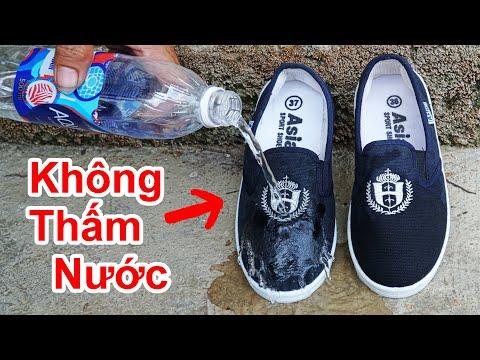 Cách Chống Thấm Nước Giày Vải Cực Hay / Mẹo Làm Giày Vải Không Thấm Nước . shoes and water