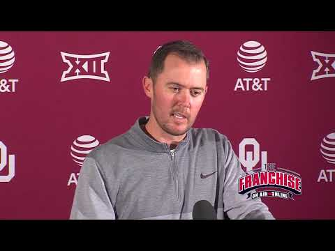 West Virginia Weekly Press Conference - Lincoln Riley
