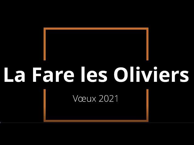 Ville de La Fare les Oliviers - Voeux 2021