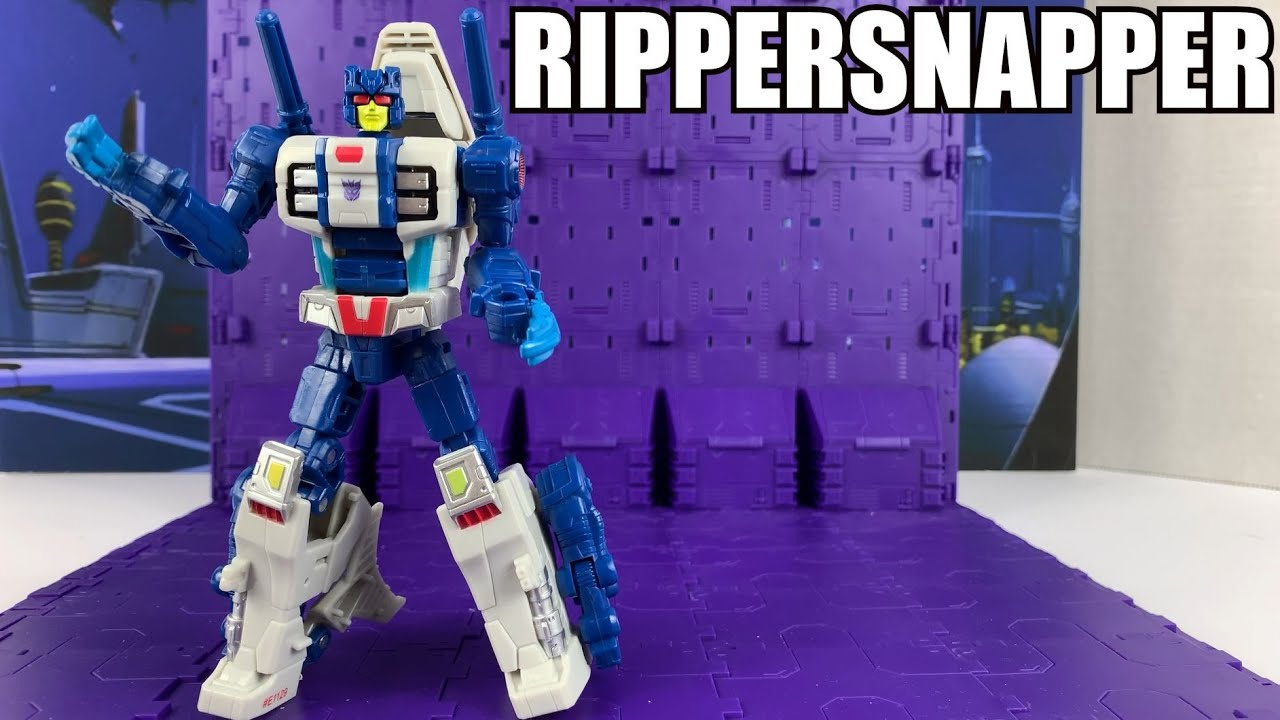 Transformers Power of the Primes Terrorcon Rippersnapper Unboxing and Review