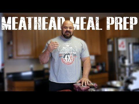 MEATHEAD MEAL PREP | 4X WSM BRIAN SHAW