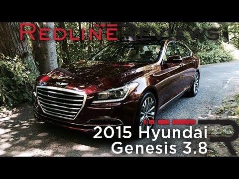2015 Hyundai Genesis 3.8 Redline Review