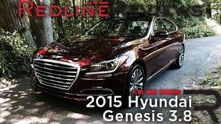 2015 Hyundai Genesis 3.8 Redline Review смотреть