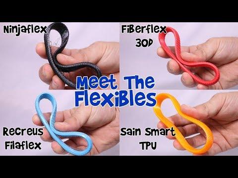 3D Printing Flexible Filament Comparison Part 2