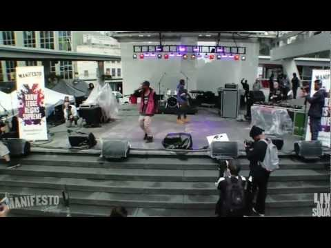 RAZ FRESCO//MANIFESTO 2012//LIVE AT THE SQUARE