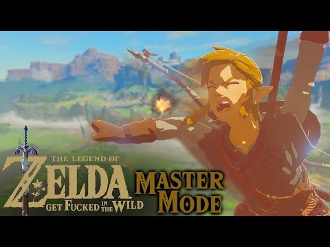 Master Mode Challenge! Breath of the Wild Funny Moments Adventure!!