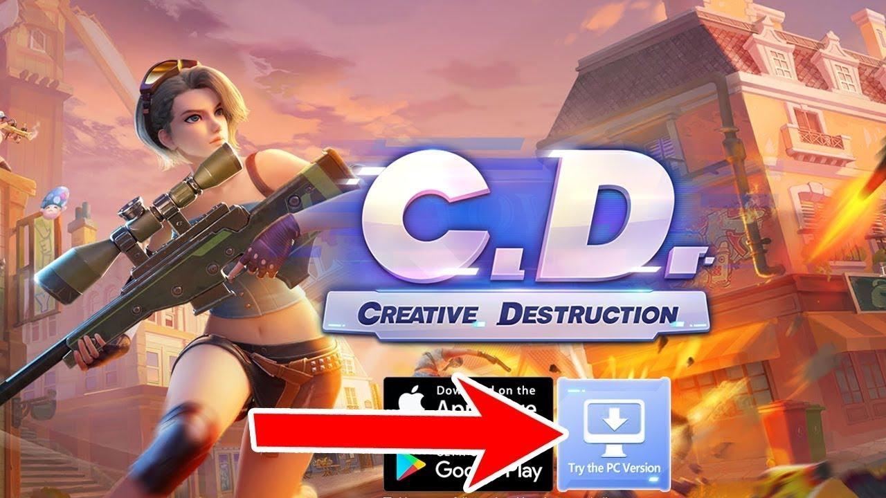تحميل لعبة creative destruction مهكرة