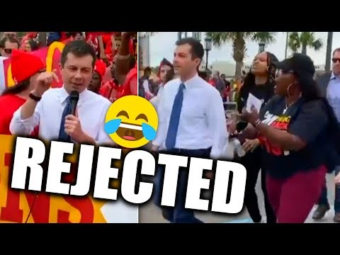 Pete Buttigieg's Slimy Attempt to Grab a Photo Op Goes Horribly Wrong