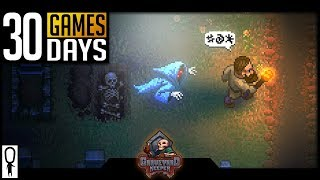 GRAVEYARD KEEPER ALPHA Impressions - STARDEW VALLEY BUT MORE DEAD STUFF- 30 Games in 30 Days (22/30)