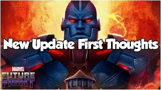 New Update First Thoughts (Roasting Apocalypse) - Marvel Future Fight