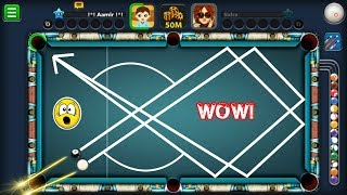 UNBELIEVABLE DOUBLE KISS SHOT IN 8 BALL POOL...(insane)