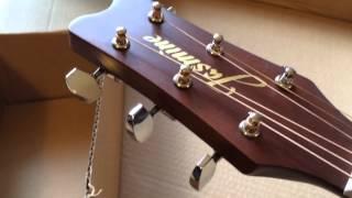 Unboxing the Jasmine S34C Guitar