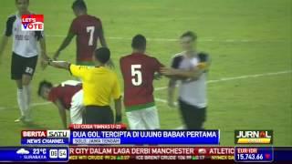 Laga Timnas U-23 Kontra Persis Solo Berakhir Imbang