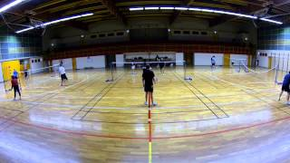 Best of 5 CEBN  badminton Nogent sur Seine