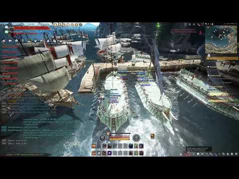 Black Desert Online Remastered - Boss VELL & KANIWA T1 - Gameplay - Español