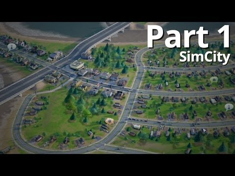 Let's Play SimCity Offline - Episode 1