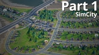 lets play simcity offline episode 1