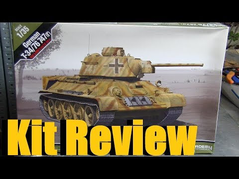 Kit review: Academy T-34/76 Beutepanzer in...