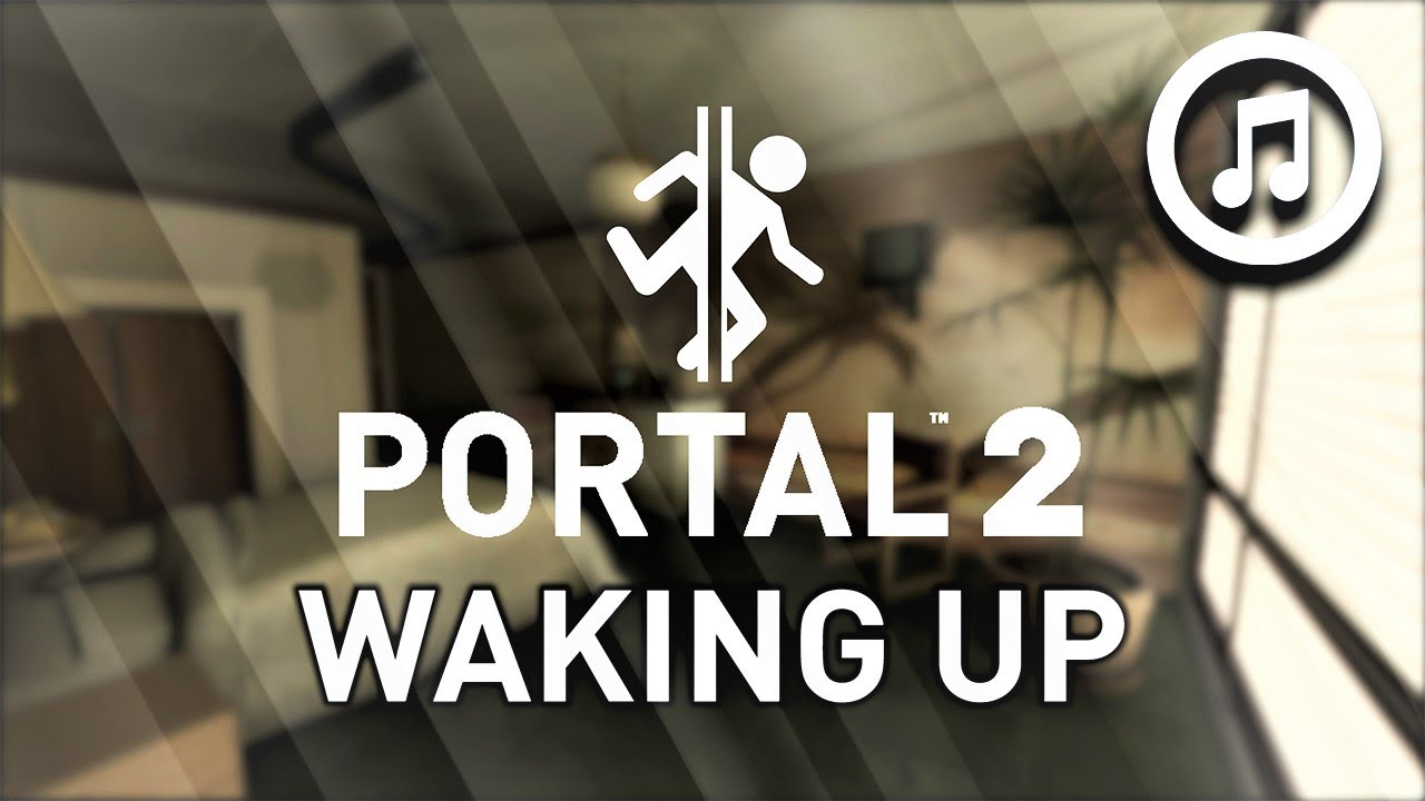 SCIFI AMBIENCE | PORTAL 2 | Waking Up | With Music | Ambient Engines | Video Game Ambience