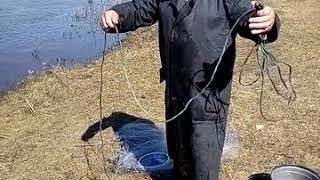 Техника заброса кастинговой сети радиус 2 метра