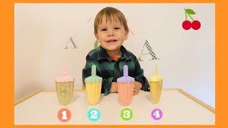 Homemade Popsicles for Kids Video by Leo