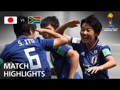 Japan v South Africa  - FIFA U-17 Women's World Cup 2018™ - Group B
