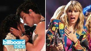 Best Moments from 2019 MTV VMAs: Taylor Swift, Shawn Mendes, Missy Elliott & More! | Billboard News Video