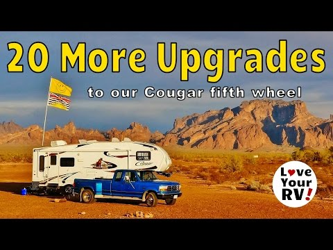 20 More RV Upgrades to Our Fifth Wheel Trailer