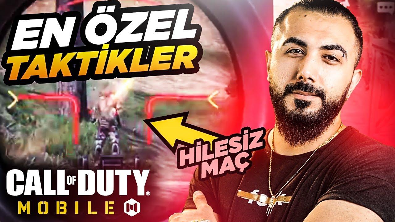 EN ÖZEL TAKTİKLER!! SONUNDA HİLESİZ BİR OYUN.... | Call of Duty Mobile