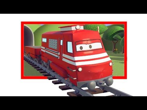 Troy o Trem e os Lagos secos na Cidade do Carro | Desenhos animados carros caminhões para crianças