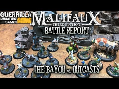 Malifaux 3E Battle Report - Ep 04 - The Bayou Vs. Outcasts