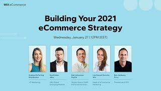 Building Your 2021 eCommerce Strategy | Wix eCommerce School | Wix.com