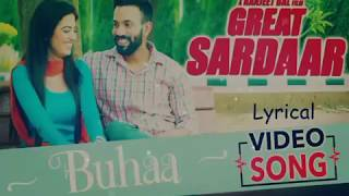 Buhaa ||  Prabh Gill Great Sardar|| Full Song Lyrical Video
